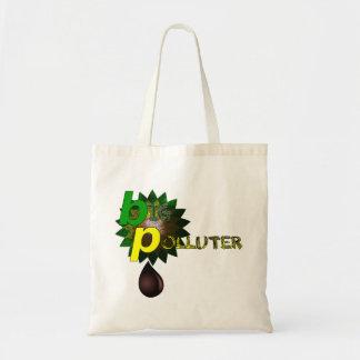 BP Big Polluter Budget Tote Bag