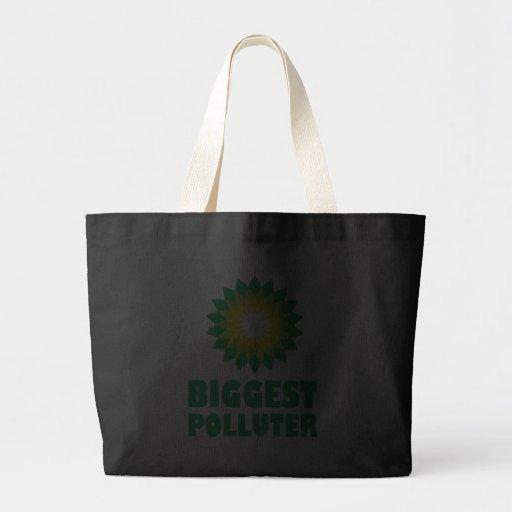 BP Biggest Polluter Bag