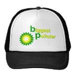 BP Biggest Polluter Mesh Hats