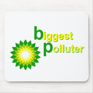 BP Biggest Polluter Mouse Pad