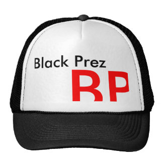 BP, Black Prez Trucker Hat