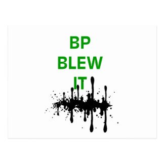 BP Blew It Postcard