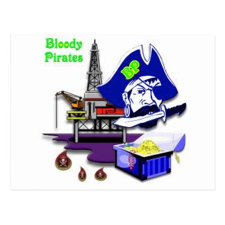 BP -- Bloody Pirates Postcard