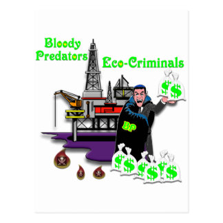 BP --  Bloody Predators Postcard