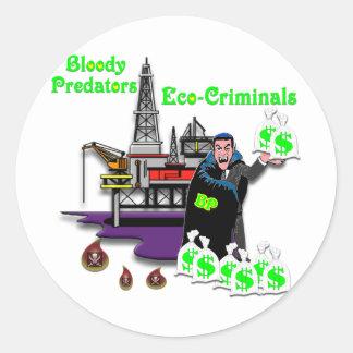 BP --  Bloody Predators Sticker