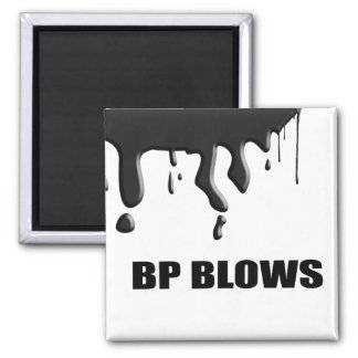 BP BLOWS 2 INCH SQUARE MAGNET