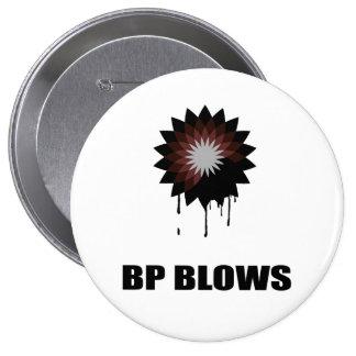 BP BLOWS 4 INCH ROUND BUTTON