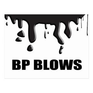 BP BLOWS POSTCARD