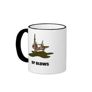 BP BLOWS RINGER COFFEE MUG