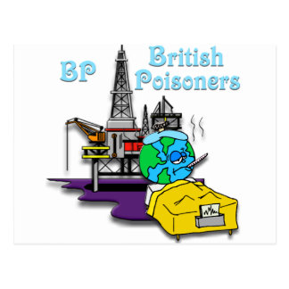 BP-- British Poisoner #2 Postcard