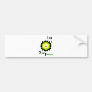 BP: British Polluters Bumper Sticker