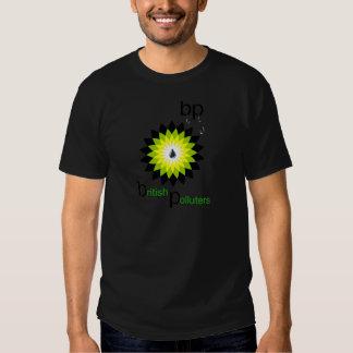 BP: British Polluters T Shirt