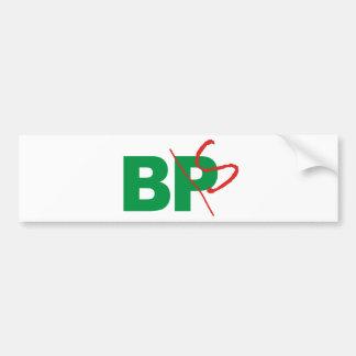 BP -> BS CAR BUMPER STICKER