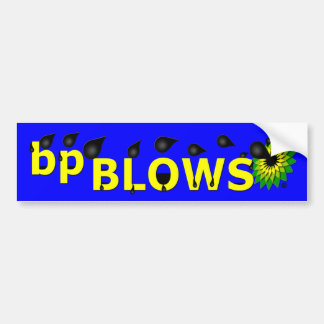 bp Bumper Stickers