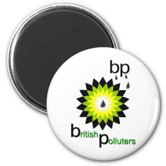 BP: Contaminadores británicos Imanes