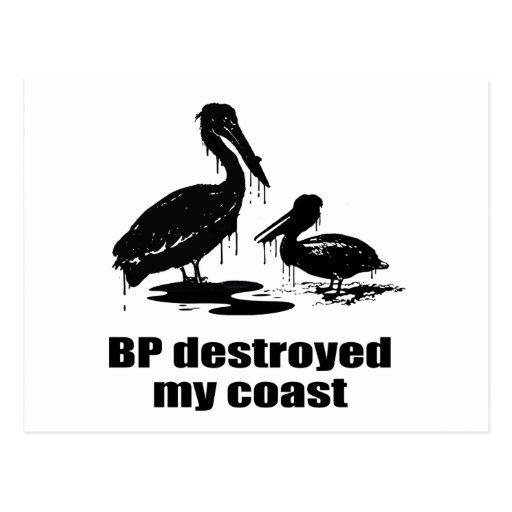 BP DESTRUYÓ MI COSTA POSTAL