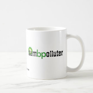 bp - dumb polluter coffee mug