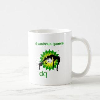 BP engrasa desastre upside-down Taza Clásica