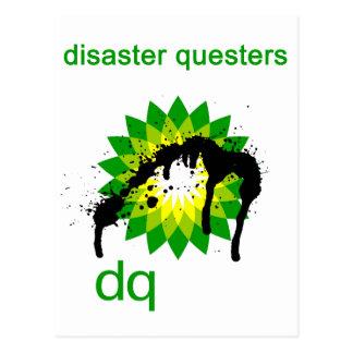 BP engrasa questers del desastre Tarjeta Postal