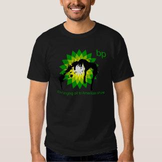 BP estamos trayendo el aceite a las orillas Polera