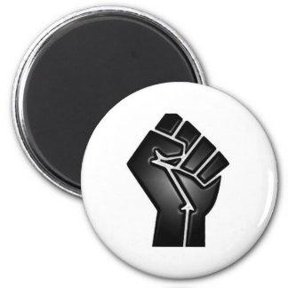 bp fist 2 inch round magnet