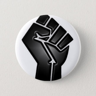 bp fist pinback button
