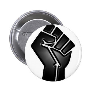 bp fist pinback button
