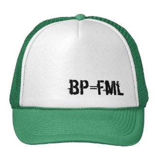 bp=fml trucker hat