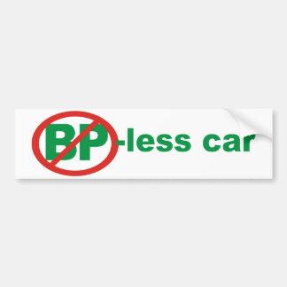 BP Free Car Bumper Sticker