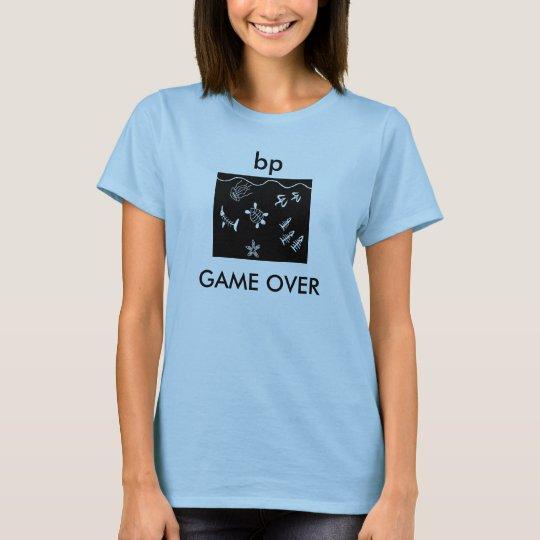 bp game over shirt