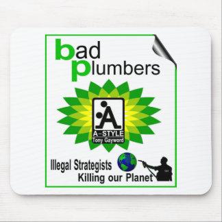 bp Humor T`SHIRTS Mouse Pad