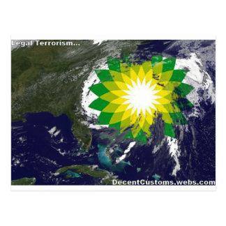 BP- Legal Terrorism Postcard