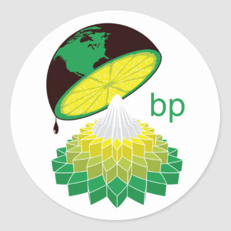BP Logo Veresion 1 (Sticker) Classic Round Sticker