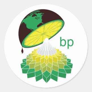 BP Logo Veresion 1 (Sticker) Classic Round Sticker