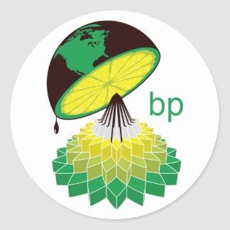 BP Logo Version 2 (Sticker) Classic Round Sticker