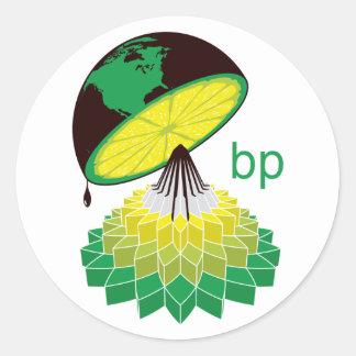 BP Logo Version 2 (Sticker) Classic Round Sticker