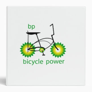 BP monta en bicicleta la carpeta del poder 3-Ring