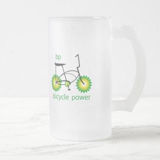 BP monta en bicicleta la cerveza Stein del poder Tazas De Café
