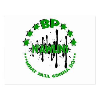 BP NAWLINS POSTCARD