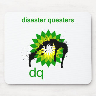BP oil disaster questers Mouse Pad
