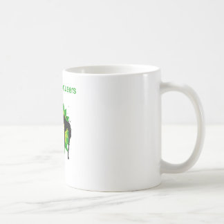 BP oil disaster upside down Classic White Coffee Mug