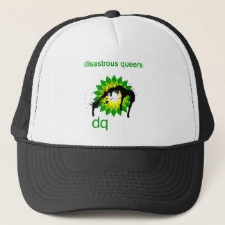 BP oil disaster upside down Trucker Hat