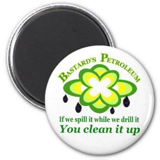 BP Oil Leak 2 Inch Round Magnet