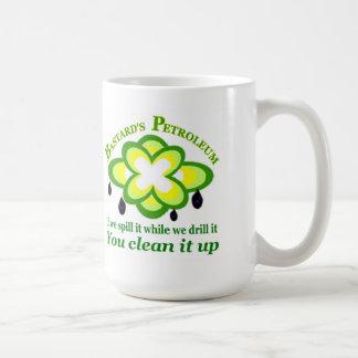 BP Oil Leak Classic White Coffee Mug