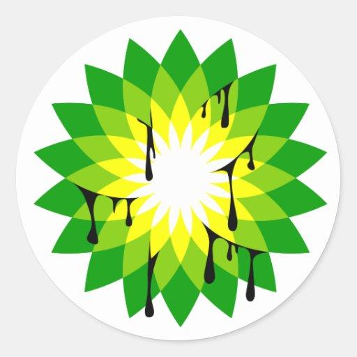 BP Oil Leak Sticker