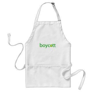 BP Oil Spill Boycott Apron