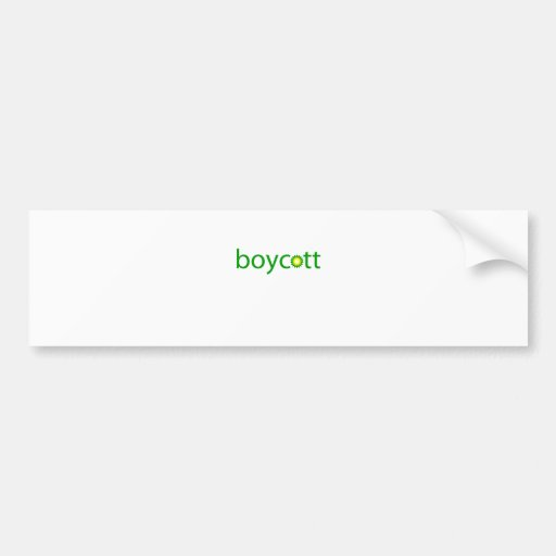 BP Oil Spill Boycott Bumper Sticker