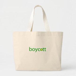 BP Oil Spill Boycott Large Tote Bag