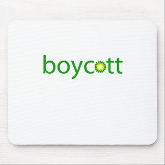 BP Oil Spill Boycott Mouse Pad