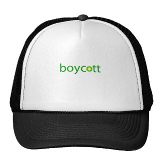 BP Oil Spill Boycott Trucker Hat